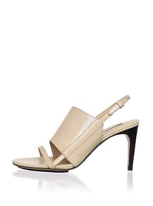 Calvin Klein Collection Women's Karin Slingback Sandal (Gold)
