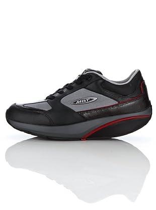 Mbt Zapatilla Moja Lux (negro / gris / rojo)