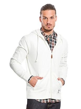 Springfield Sweatshirtjacke (Weiß)
