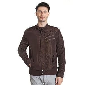 Allen Solly ALJK513C02492 Brown Front Jacket