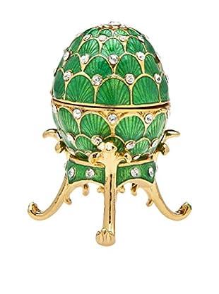 Godinger Egg Box, Green