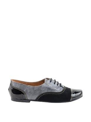 Liberitae Zapatos Oxford (Negro)