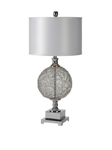 Jasmin Table Lamp, Silver