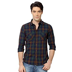 Ultra Slim Fit Checked Shirt