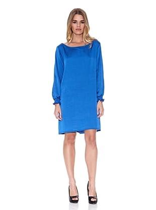 Poéte Vestido Pecas (Azul)