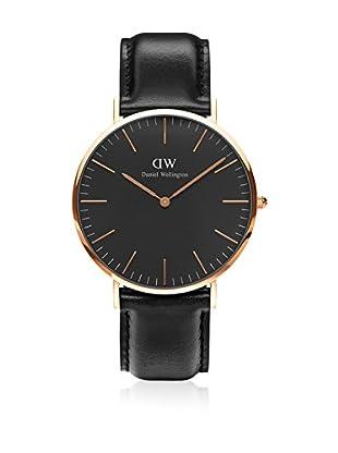 Daniel Wellington Reloj con movimiento cuarzo japonés Woman Classic Sheffield black 36 mm