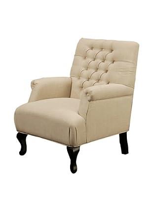 Abbyson Living Roma Tufted Club Chair