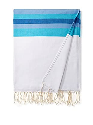 Nomadic Thread Cotton Throw Maxi Fouta, White