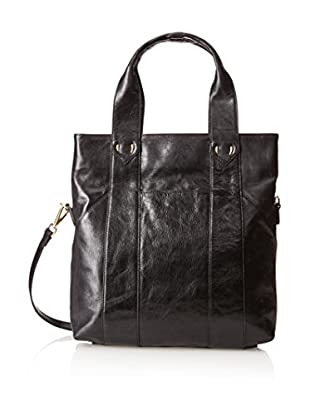 Tusk Women's Donington Napa Medium Convertible Tote, Black