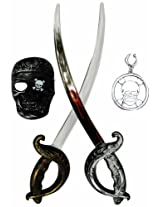 Pirate Set With Two Swords