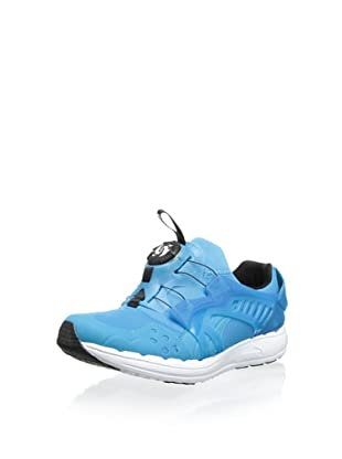PUMA Future Disc Blaze Lite Fashion Sneaker (Hawaiin Ocean/White)