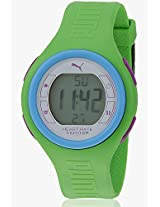 Pulse 88916001 Green Digital Watch