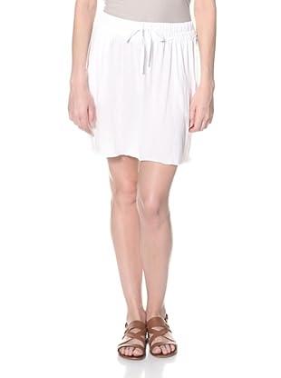 SKIN Women's Cargo Skirt (White/Black)