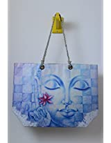 Kitschdii Blue Buddha Tote Bag- HTT-027