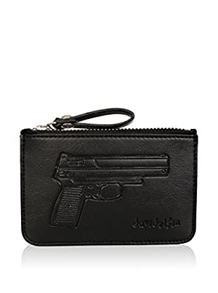 davidelfin Monedero Key Purse Negro