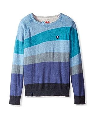 Desigual Men's Striped Sweater