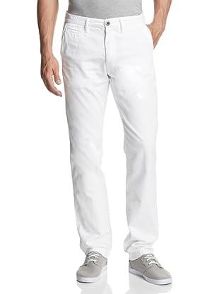 Original Paperbacks Men's Bayside Canvas Flat Front Pant (White)