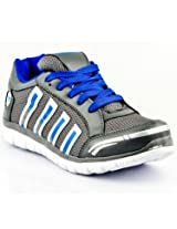 Provogue Mesh Sports Shoes PV1058-Grey & Blue