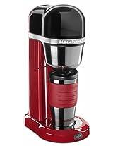 KitchenAid 5KCM0402BER 700-Watt Personal Coffee Maker (Empire Red)