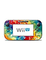 Tie Dyed Design Protective Decal Skin Sticker (High Gloss Coating) For Nintendo Wii U Controller Device