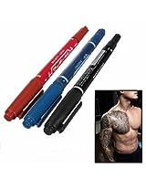 10pcs Dual Tattoo Piercing Marking Pen Tattoo Tools