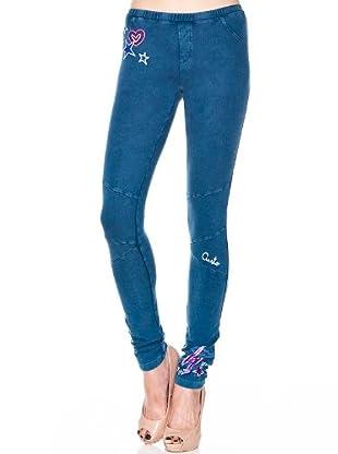 Custo Leggings Ted (Blau)