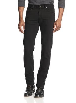 Agave Men's Gringo Calvary Twill Classic Cut Straight Leg Jean (Black)