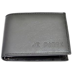 Je Porte 252 Two Tone dana Black Wallet For Men