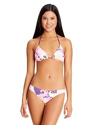 Brasileras Bikini Flores Rosas
