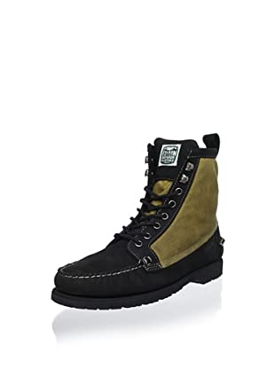 Sebago Men's Kettle Boot (Black/Wax Canvas)