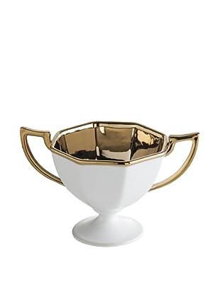 Rosanna Luxe Moderne Octagonal Trophy Bowl