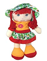 Tickles Red Smilling Doll Stuffed Soft Plush Toy Love Girl 45 cm