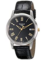 Tissot Classic Dream Analog Black Dial Men's Watch T0334102605301