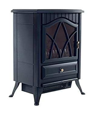 Even Glow Classic Freestanding Electric Fireplace, Black
