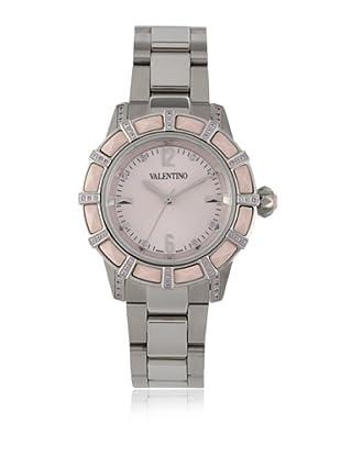 Valentino Women's Eden Silver/Pink Stainless Steel Watch