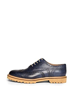 British Passport Zapatos Wing Cup (Azul)