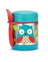 Skip Hop Zoo Insulated Food Jar, Owl