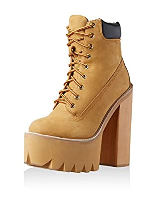 Jeffrey Campbell Stivaletto Stringato Hbic-Ltd Nub