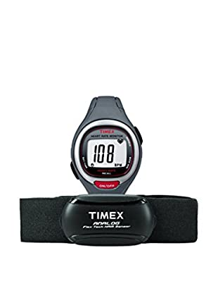 TIMEX Reloj de cuarzo Unisex Unisex Easy Trainer HRM Gris Oscuro 39 mm
