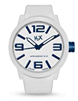 H2X Turbina Analog White Dial Men's watch - SW395UWB