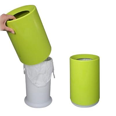 袋が隠れるゴミ箱