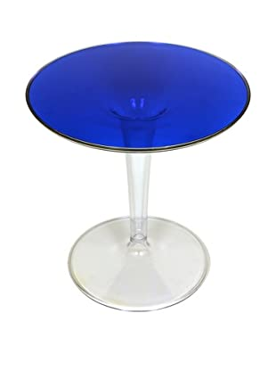 Control Brand Space Tulip Side Table, Blue