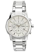 Timex E Class Analog Silver Dial Men's Watch - TW000Y500