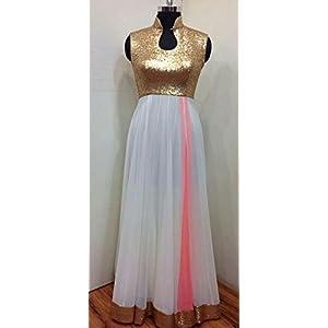 Pehrava Designer Gown Dress - White