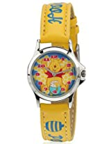 Disney Analog Multi-Color Dial Children's Watch - 3K0906U-WP (YELLOW)