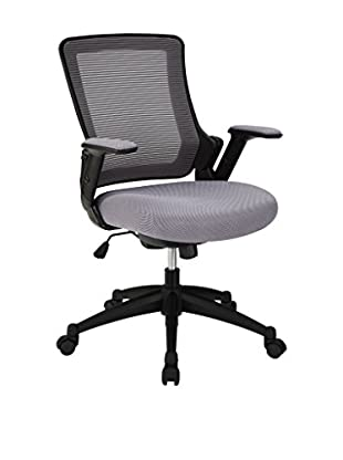 Modway Aspire Fabric Office Chair, Gray