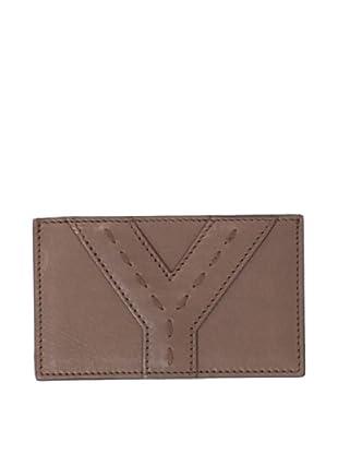 Yves Saint Laurent Women's Credit Card Case, Brown