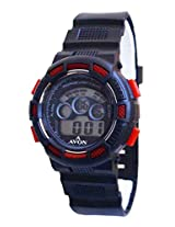 A Avon Sports Digital Black Dial Women's Watch - 1002011