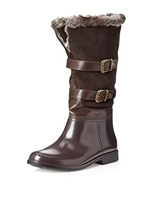 Storm by Cougar Women's Salma Rain Boot (Brown Suede)