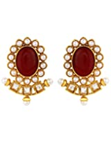 Adwitiya Collection Gold Earrings for Women